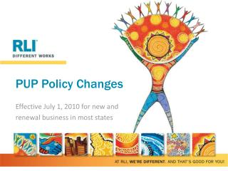 PUP Policy Changes