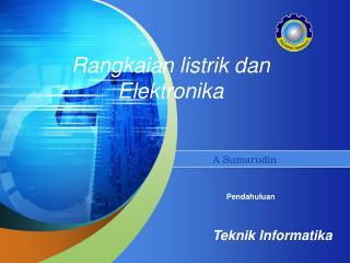 Rangkaian listrik dan Elektronika