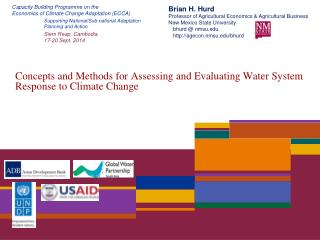 Concepts and Methods for Assessing and Evaluating Water System Response to Climate Change