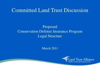 Committed Land Trust Discussion