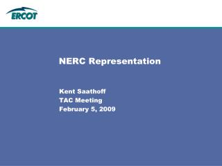 NERC Representation