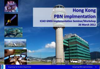 Hong Kong PBN implmentation  ICAO GNSS Implementation Seminar/Workshop  26 March 2012