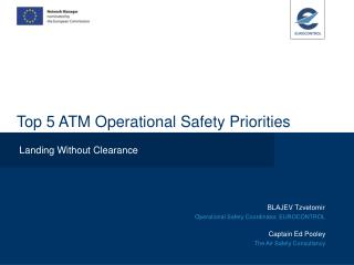 Top 5 ATM Operational Safety Priorities