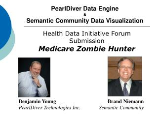 PearlDiver Data Engine  & Semantic Community Data Visualization