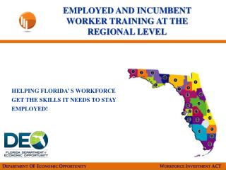 Department OF Economic Opportunity      Workforce Investment ACT