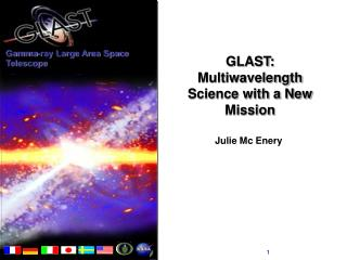 GLAST: Multiwavelength Science with a New Mission
