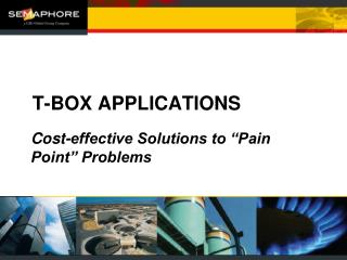 T-BOX APPLICATIONS