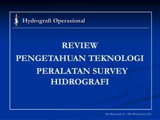Hydrografi Operasional