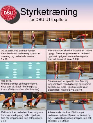 Hop-serie.  Find balance før du hopper videre. Knæ over tå. Stabil i hofte og knæ
