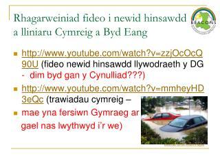 Rhagarweiniad fideo i newid hinsawdd  a lliniaru Cymreig a Byd Eang