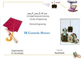 IR Controls Motors