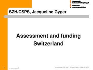 SZH/CSPS, Jacqueline Gyger