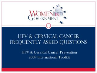 HPV & Cervical Cancer Frequently Asked Questions