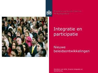 Integratie en participatie