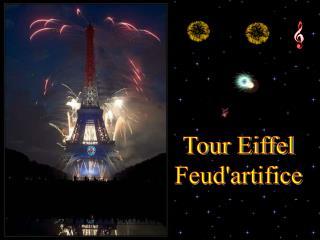 Tour Eiffel Feud'artifice