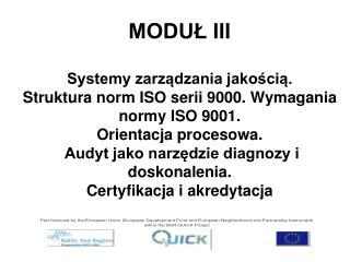 Historia norm ISO serii 9000