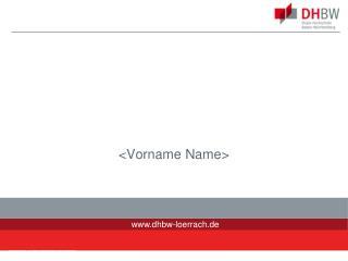 <Vorname Name >