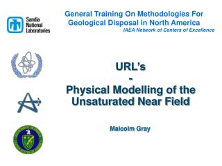 URL's - Physical Modelling of the  Unsaturated Near Field