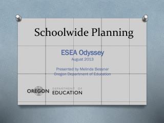 Schoolwide Planning