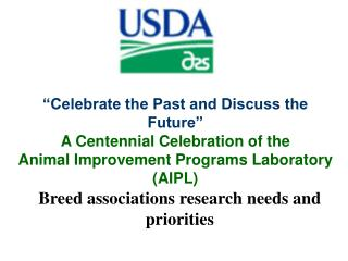 Breed associations research needs and priorities
