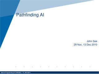 Pathfinding AI