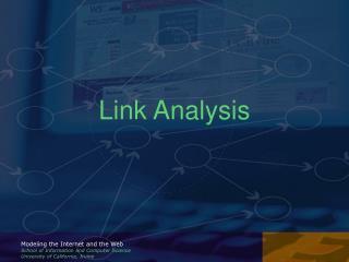 Link Analysis