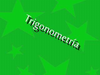 Trigonometr�a