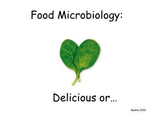 Food Microbiology: