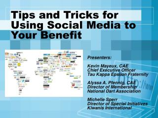 Tips and Tricks for Using Social Media to Your Benefit