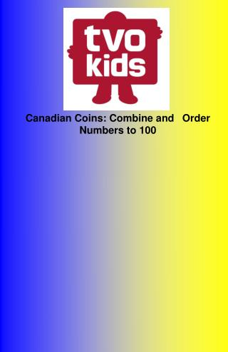 Canadian Coins: Combine and 