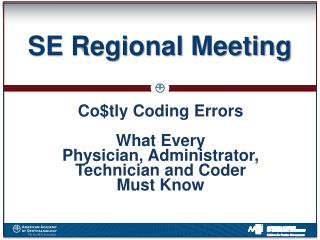 SE Regional Meeting