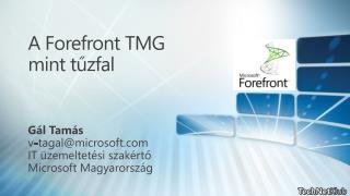 A Forefront TMG mint tűzfal