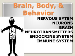 Brain, Body, & Behavior