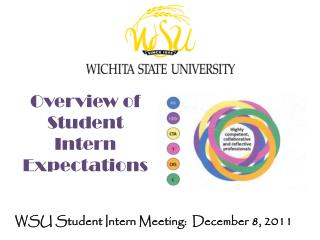 Overview of Student Intern Expectations