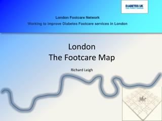 London  The  Footcare  Map Richard Leigh