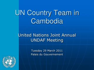 UN Country Team in Cambodia