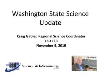Washington State Science Update