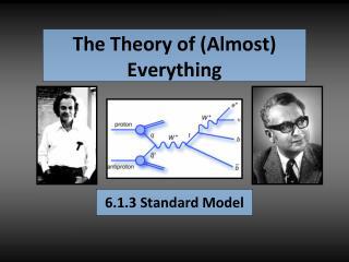 6.1.3 Standard Model