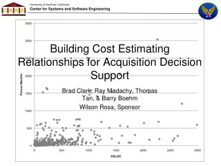 Building Cost Estimating Relationships for Acquisition Decision Support