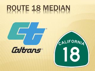 Route 18 Median