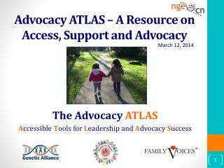 Advocacy ATLAS – A Resource on Access, Support and Advocacy