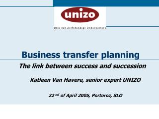 Business transfer planning