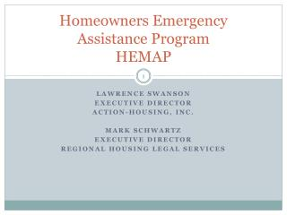 Homeowners Emergency Assistance Program HEMAP