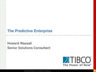 The Predictive Enterprise