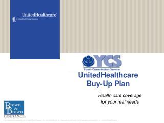 UnitedHealthcare Buy-Up Plan