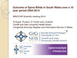Outcome of  Spina  Bifida in South Wales over a 10 year period 2004- 2013