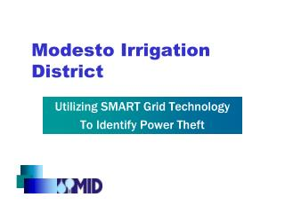Modesto Irrigation District