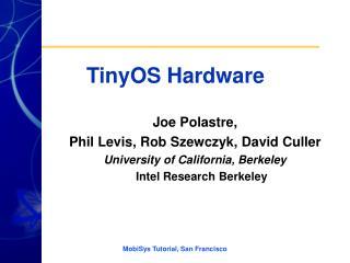 TinyOS Hardware