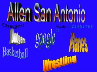 Allen San Antonio