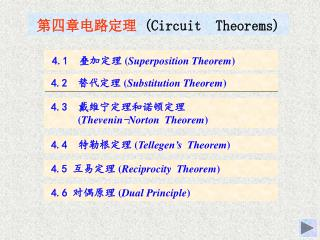 ??????? (Circuit  Theorems)